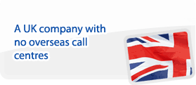 A UK Company with UK based call centres